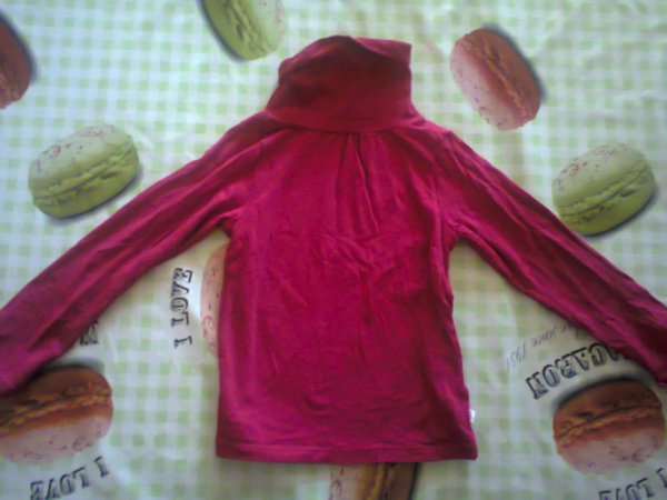 Pull Col Rouler 2 euro