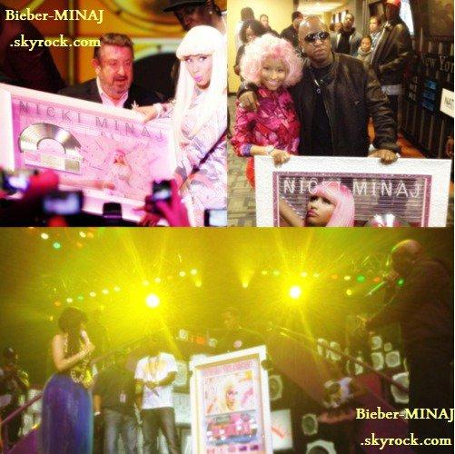 NICKI MINAJ - Concert avec Paul Wall,Bun B,Slim Thug.