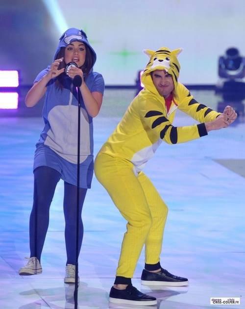 Ouais bon, ça c'est Darren et Lucy Hale quoi :'))