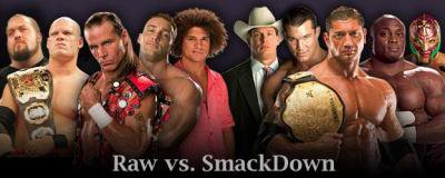 raw vs smackdown