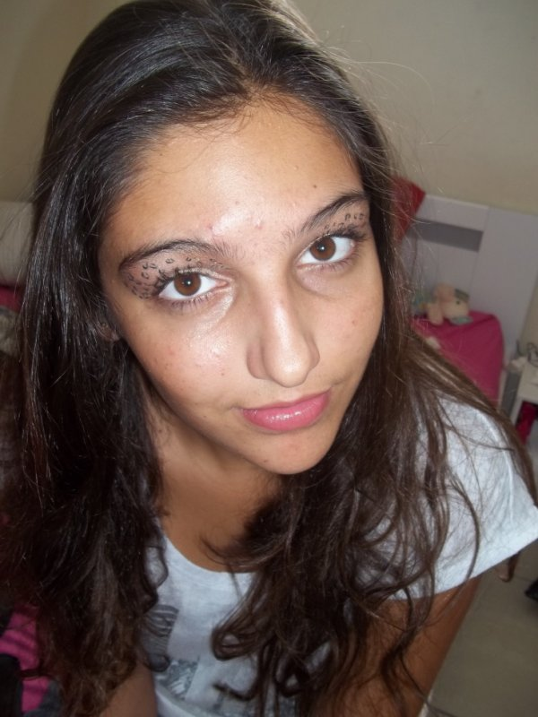 Make Up Leaopard !