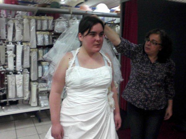 2eme essaie  de robe