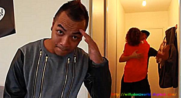 """Apparition de Willy Denzey dans la vidéo de Mister V """"Le RnB"""""""