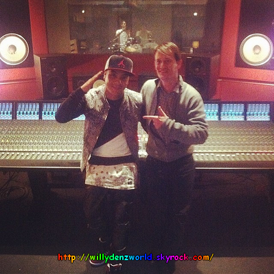new photo en studio de Willy (23/04/2014)