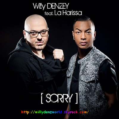 "Pochette du single ""Sorry"" (Feat. La Harissa) de Willy Denzey"