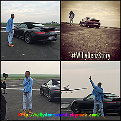 "photos du nouveau clip de Willy Denzey ""Il Le Fallait"""