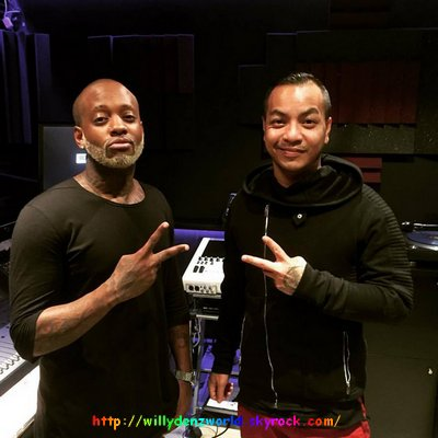 Session Studio avec Willy William pour son album [25/11/2015]