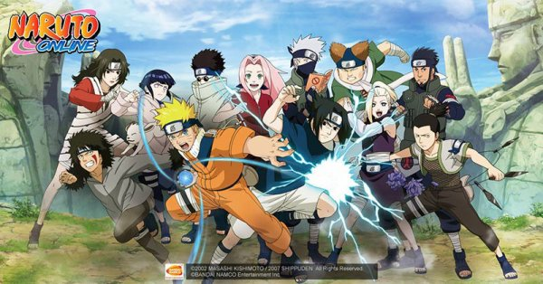 Play Japanese anime same name game - Naruto Online