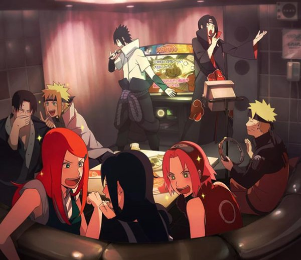 What would the ninjas of Naruto be doing for work?