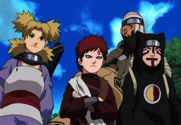 Hidden Sand Village is where Gaara's clan live