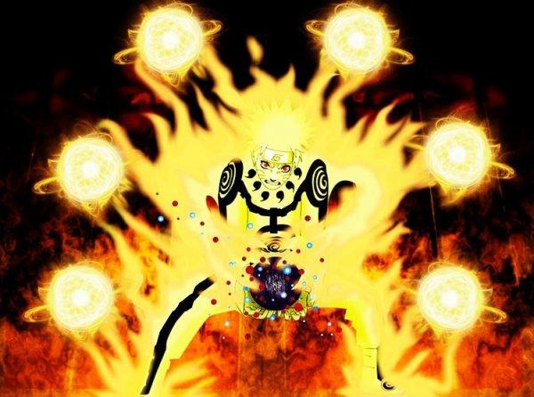 Nine-Tails Rasengan Naruto