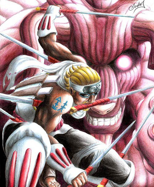 Killer Bee: perfect usage of the Eight-Tails Chakra