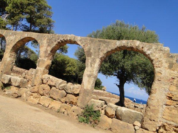 Algérie 2014 : Le site archéologique de Tipaza