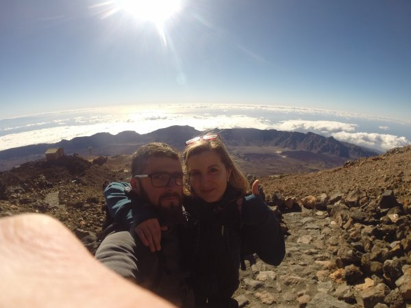 Iles Canaries : Tenerife - Ascension Pico Del Teide (Volcan)