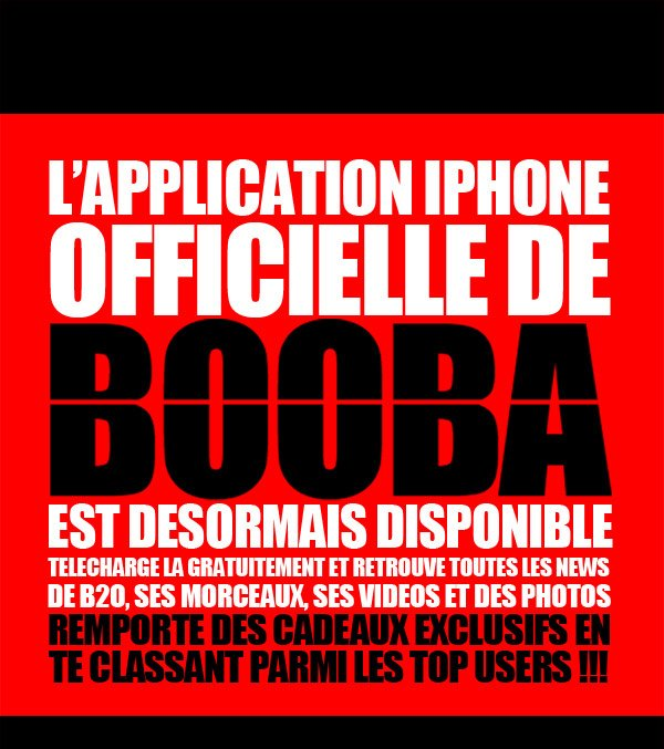 Booba - L'application Iphone Officielle disponible!