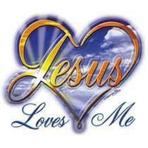 Jésus m'aime...
