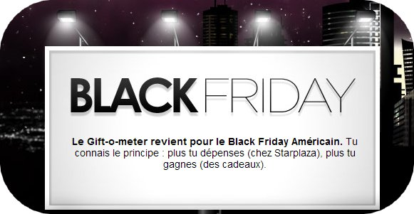 Black Friday is come back !
