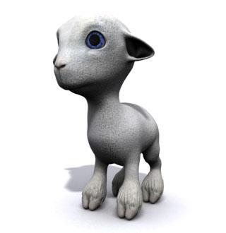 Mon tit agneau