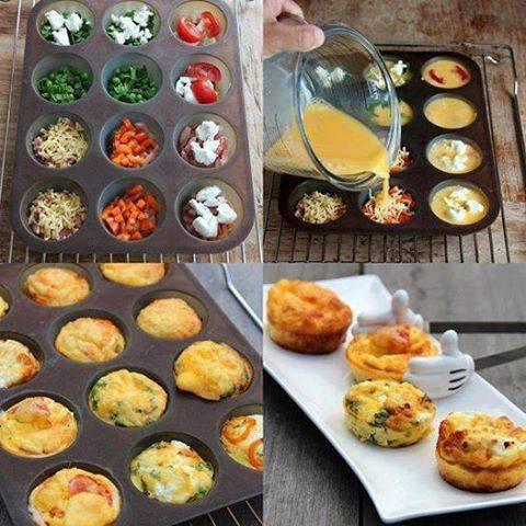 Omelette fa on cupcake pour l 39 ap ro blog de mumu7271 for Tapas originales para sorprender