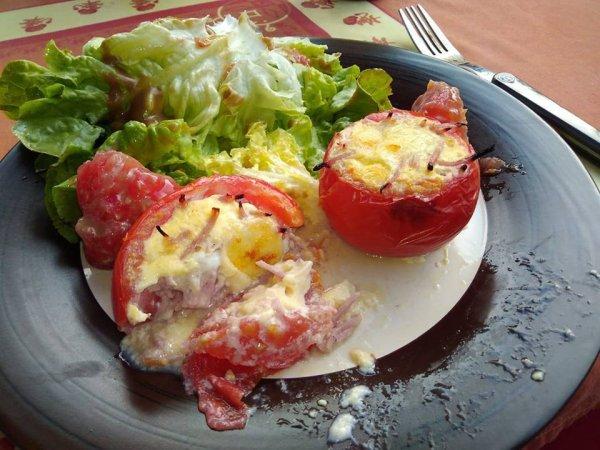 Quiche tomate farcie