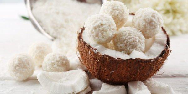 Bouchées noix de coco sans cuisson