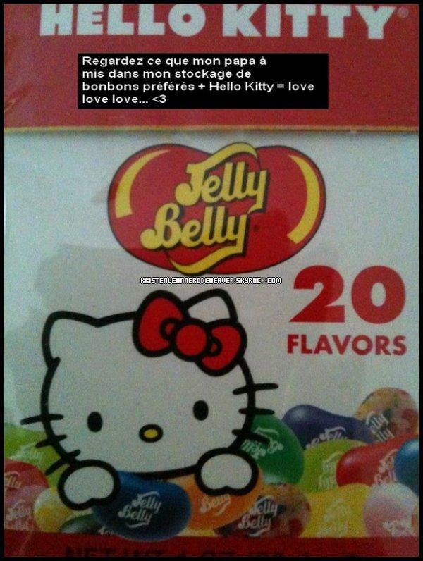 . .  Kristen a postté une nouvelle photo via twitter (: Hello Kitty :p Qu'en pensez-vous ? Donnez moi tous vos avis :D Info : A partir du 26 Décembre jusqu'au 31 je ne serais pas là, donc je ne pourrais pas poster de news, alors ce sera la cowebmiss qui s'en occupera :D Joyeuses fêtes à vous :D . .