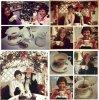 """. .  Voici les nouvelles photos qu'à postées Kristen sur son compte Instagram. Sur les 4 premières, elle prend un thé avec """" Miss Martha"""", sur les photos suivantes, c'est le temps qu'il reste avant Noël, avec des photos simples ou elles ont un bonnet, il y a une photo où elle est avec son grand-père, le 10 Décembre car c'était son anniversaire, une photo où elle est avec @snicole11 et @franstan. Et le reste, sans importance :).. ."""