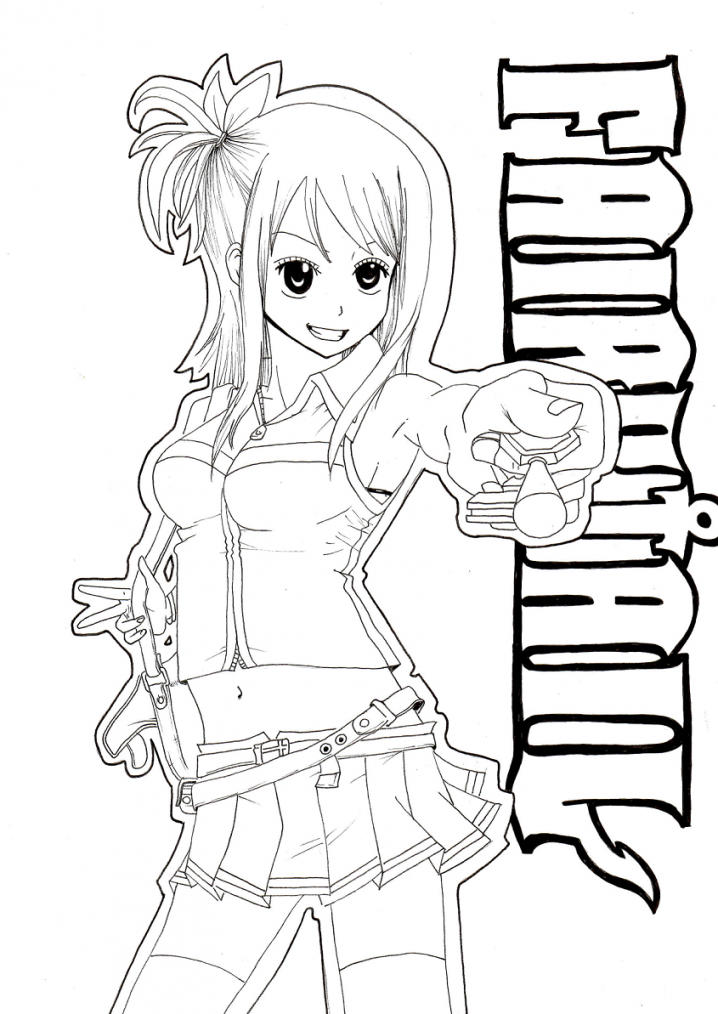 Lucy de Fairy Tail !