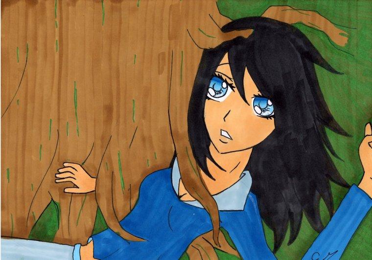 La fille de la forêt :p
