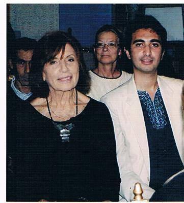 alae ghorfi avec ambasadeure