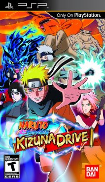 Sortie : Naruto Shippûden Kizuna Drive sur PSP