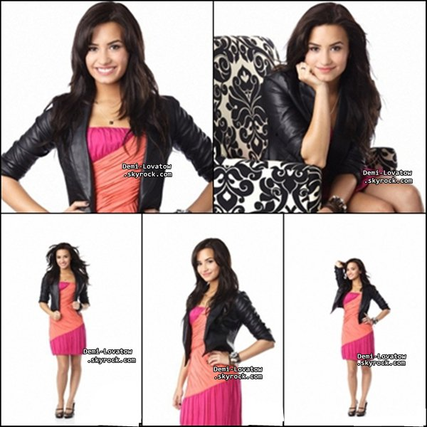 Le photoshoot de Demi que j'adore :)