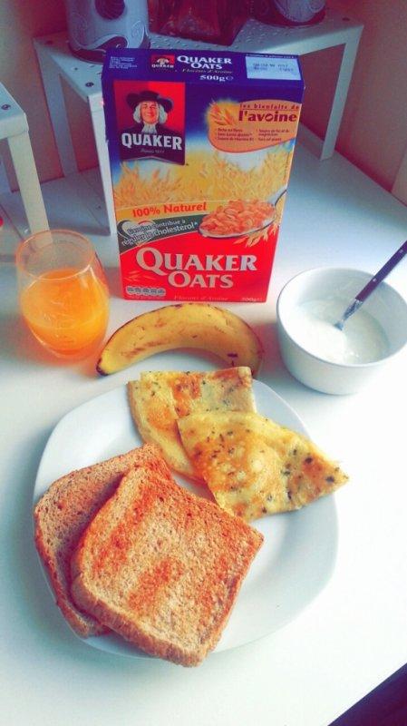 Mon Petit déjeuner!!   :)