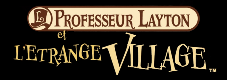 Jeu N°2: PROFESSEUR LAYTON: L'ÉTRANGE VILLAGE -Nintedo DSi-