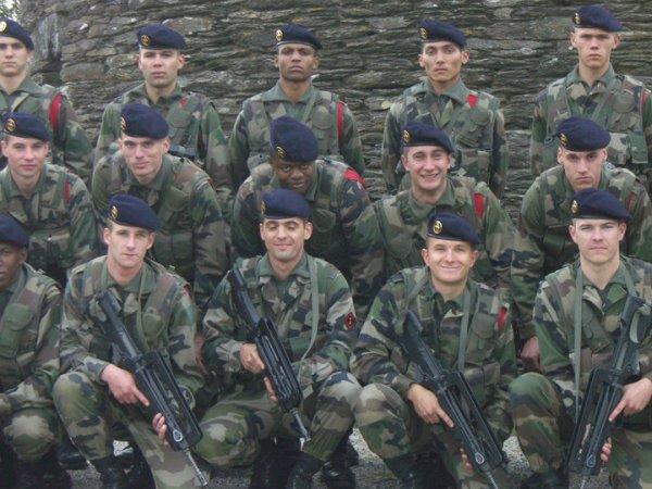6 ème régiment du génie  a angers :)