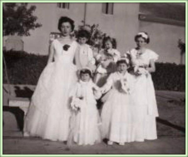 LAMTAR : Photo du mariage de Jeannette Pelatan
