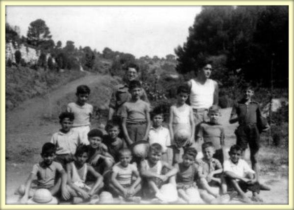LAMTAR : Camp de Vacances de MERCIER LACOMBE dans les années 1950