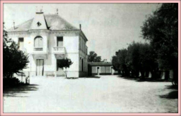 LAMTAR : Le Château Chamboulive en 1958