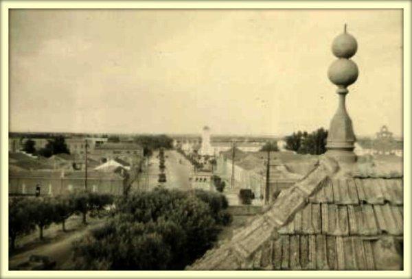 LAMTAR : Depuis le Château Chamboulive en1958