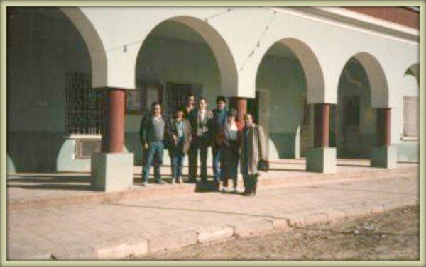 LAMTAR : Devant la l'hôtel de ville en 1985