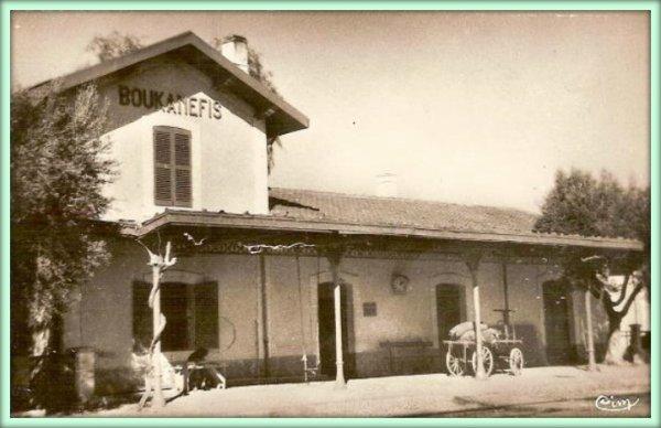 BOUKANÉFIS : La gare SNCFA