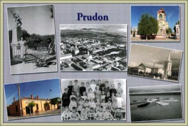 PRUDON : Vieille carte postale