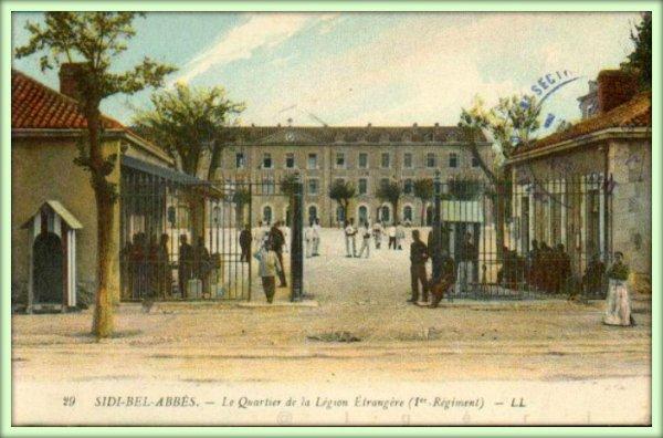 Sidi-Bel-Abbès ville de la Légion Etrangère