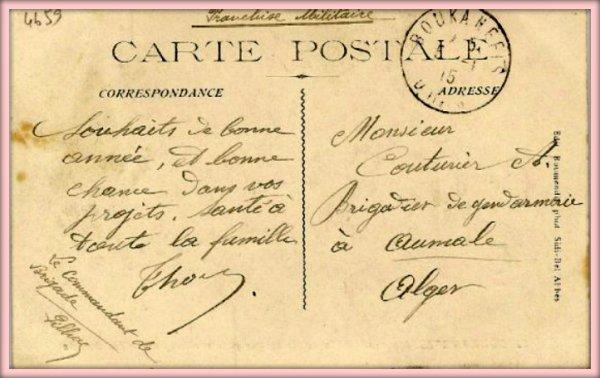 BOUKANÉFIS : Carte postale ancienne