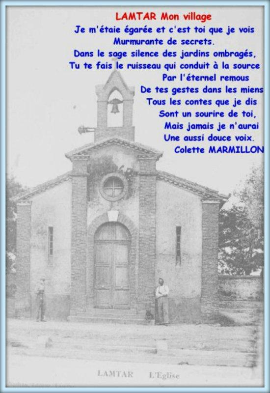 Un poème de Colette MARMILLON