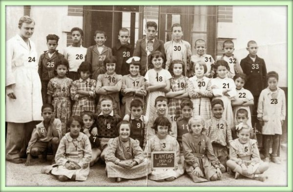 LAMTAR : Photo de classe de 1951-52