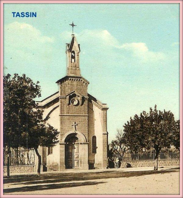 TASSIN : Histoire de la création du village