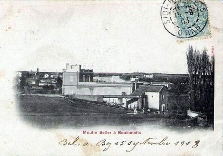 BOUKANEFIS : Cartes postales anciennes