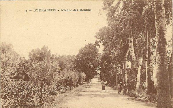 BOUKANEFIS : Création du village (suite)