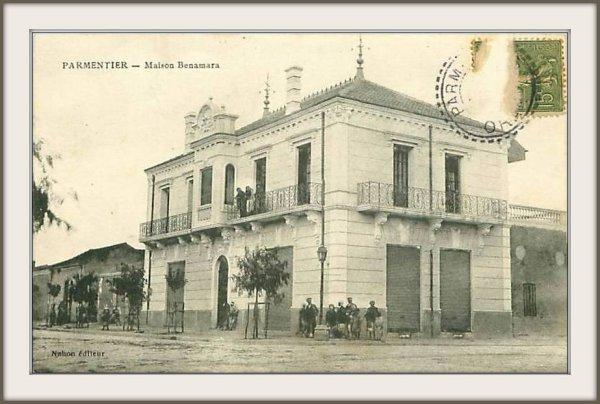 PARMENTIER : Carte Postale dénichée sur Delcampe